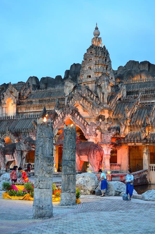Palast der Elefanten, Phuket, Thailand stockfoto