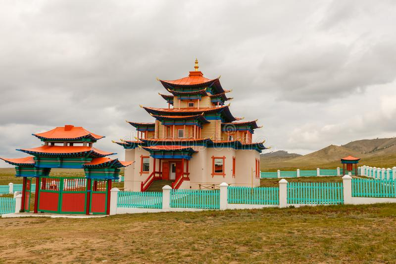Palast der Göttin weißes Tara lizenzfreies stockfoto