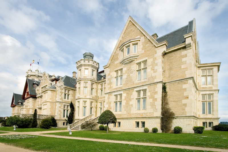 Palast der Magdalena lizenzfreies stockfoto
