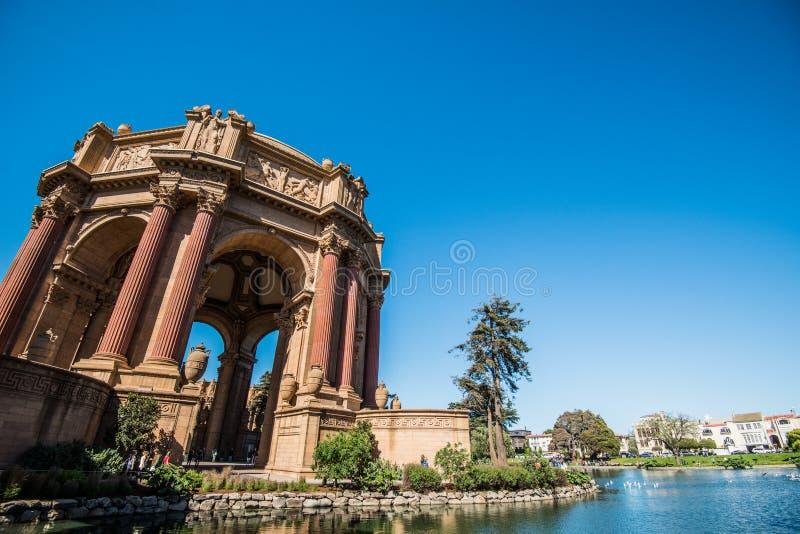 Palast der schöner Kunst, San Francisco, Kalifornien stockfotos