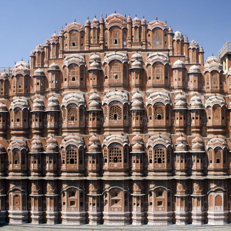 Palast der Winde, Indien lizenzfreies stockfoto
