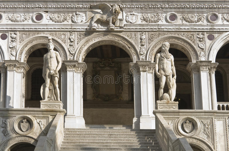 Palast des Doges, Venedig lizenzfreies stockfoto