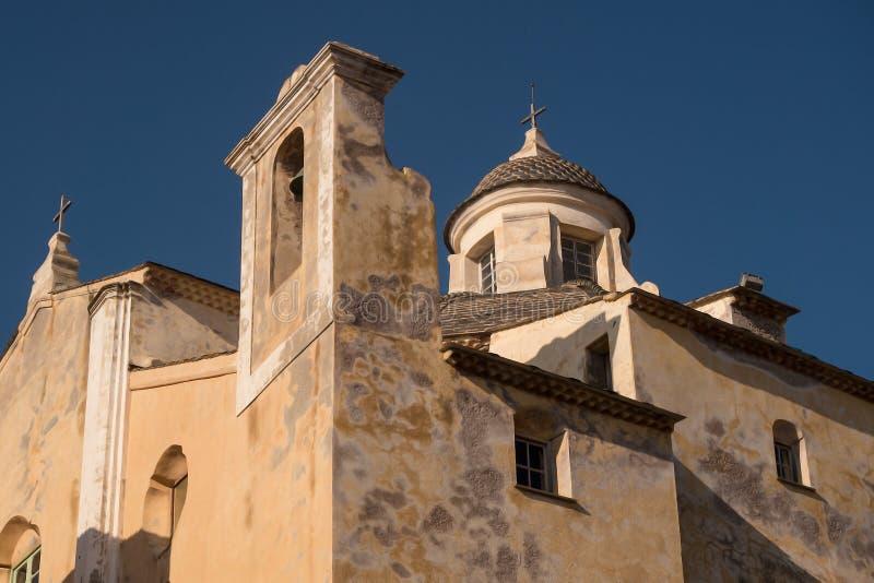 Palast des Gouverneurs, Calvi, Korsika lizenzfreies stockfoto