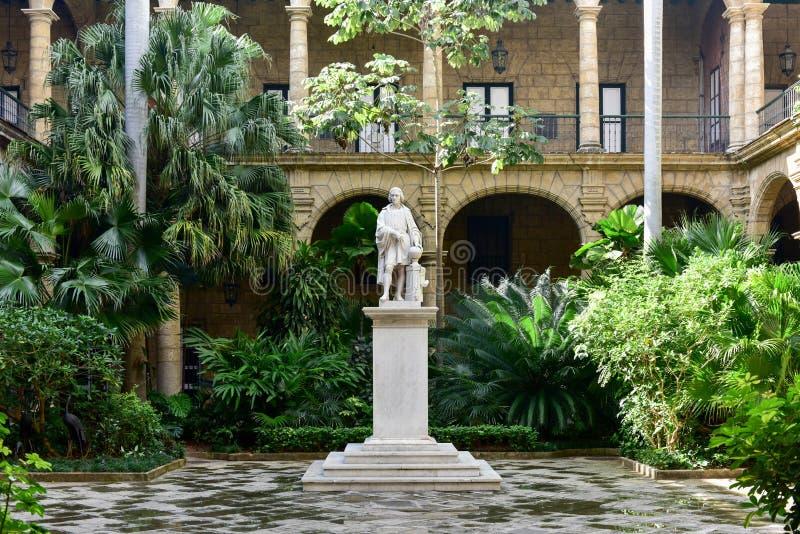 Palast des Kapitän-Generals - Havana, Kuba stockfoto