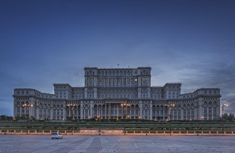Palast des Parlaments, Bucharest, Rumänien lizenzfreie stockfotografie