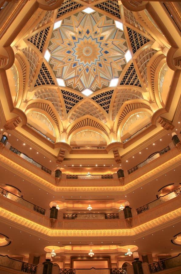 Palast-Gebäude nach innen stockfotografie