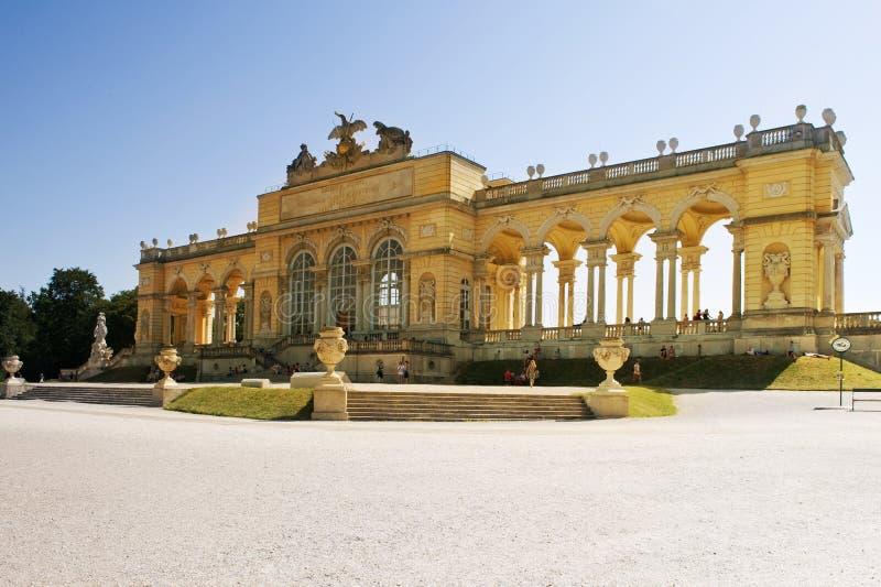 Palast Gloriette Schoenbrunn stockfotografie
