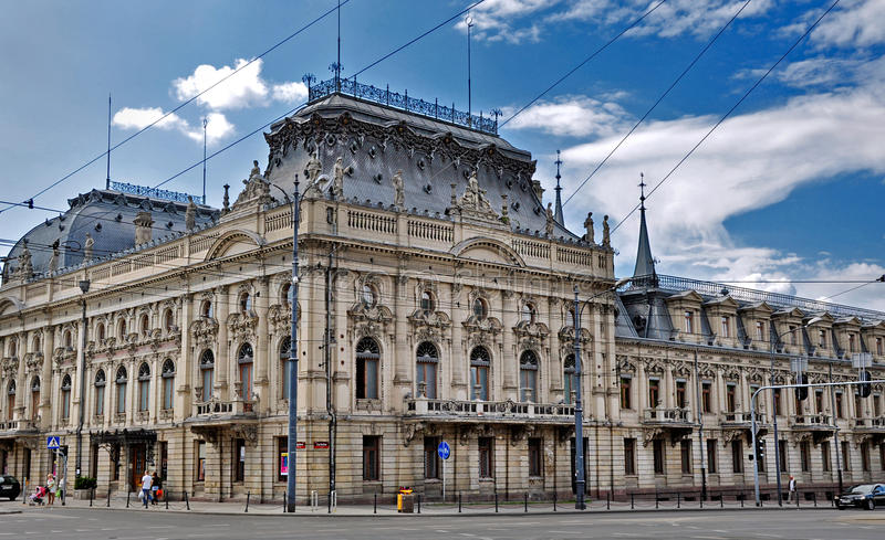 Palast Izrael Poznanski lizenzfreie stockfotos