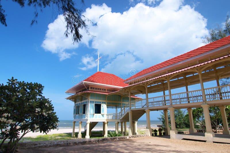 Palast Mrigadayavan Cha-Sind innen, Thailand stockfotografie