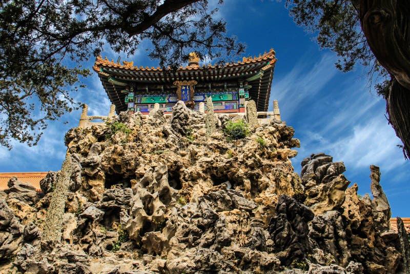 Palast-Museum Chinas Peking Gugong stockbilder