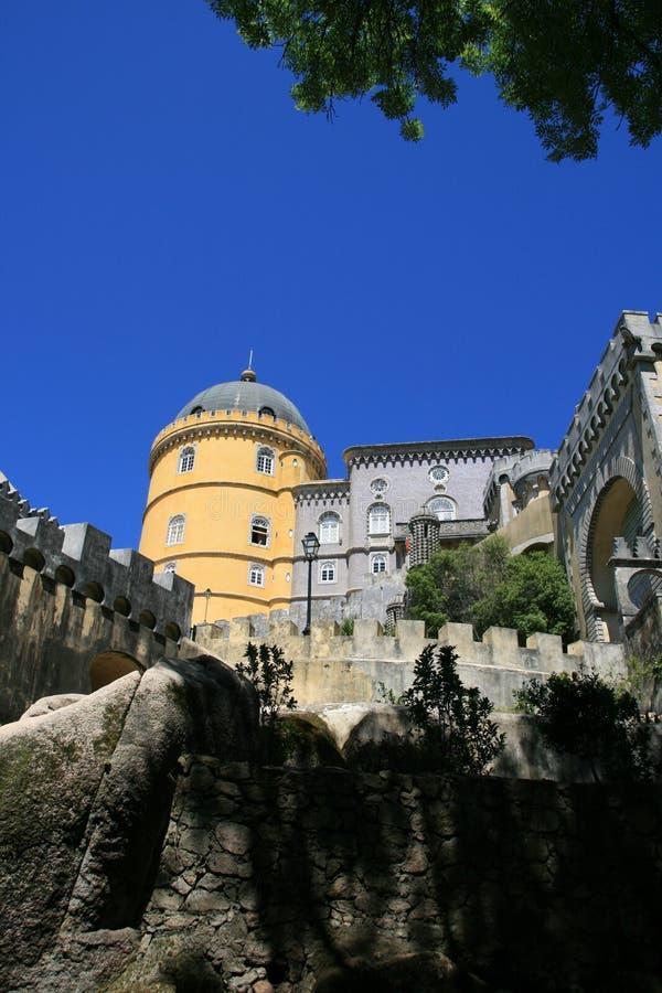 Palast in Portugal stockfotografie