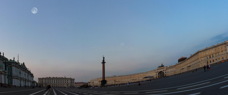 Palast-Quadrat, St Petersburg, Russland lizenzfreie stockbilder