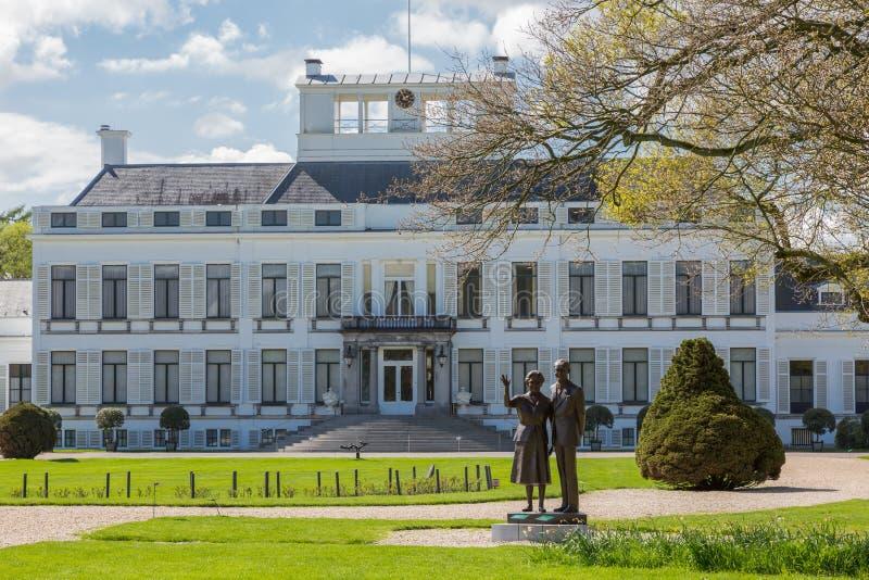 Palast soestdijk in Baarn, die Niederlande stockbild