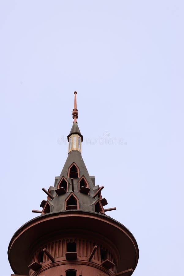 Palast-Spitzen-Detail Phya thailändisches lizenzfreies stockfoto