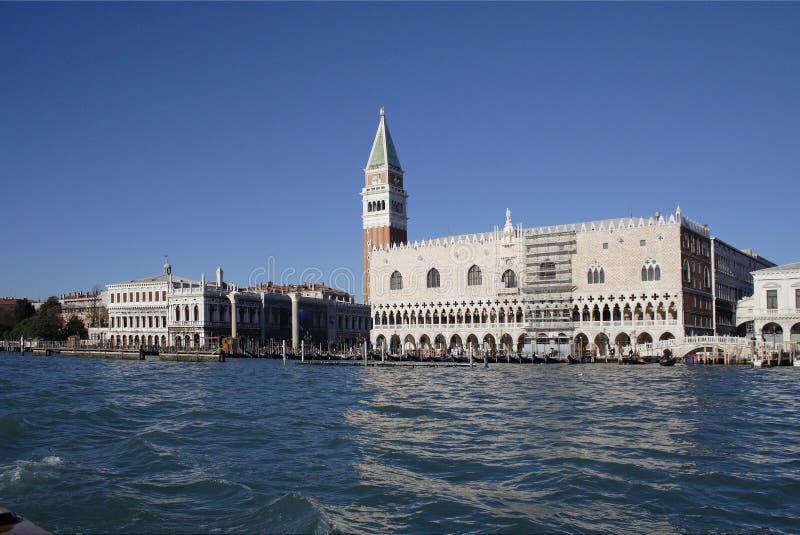 Palast Venedig des Doges stockbilder