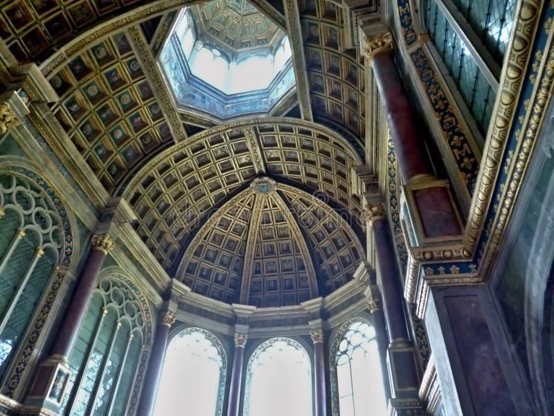 Palast von Fontainebleau stockbilder