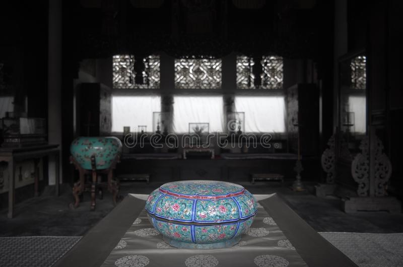 Palast von Gathered Eleganceï ¼ Œindoors stockfoto
