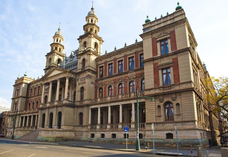 Palast von Gerechtigkeit in Pretoria stockbild