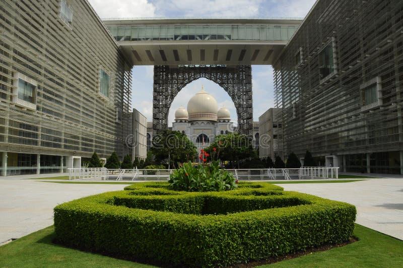 Palast von Gerechtigkeit in Putrajaya, Malaysia stockfotos