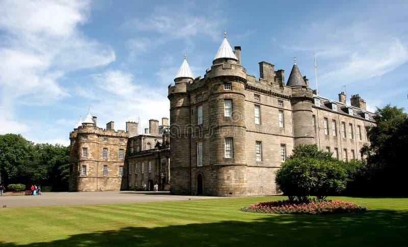 Palast von Holyroodhouse stockbild