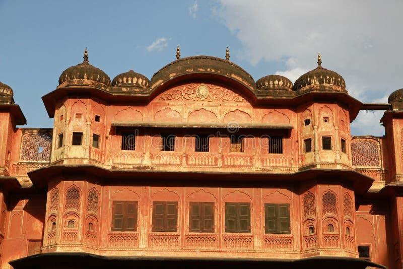 Download Palast von Jaipur stockbild. Bild von indisch, verstärkung - 96927131