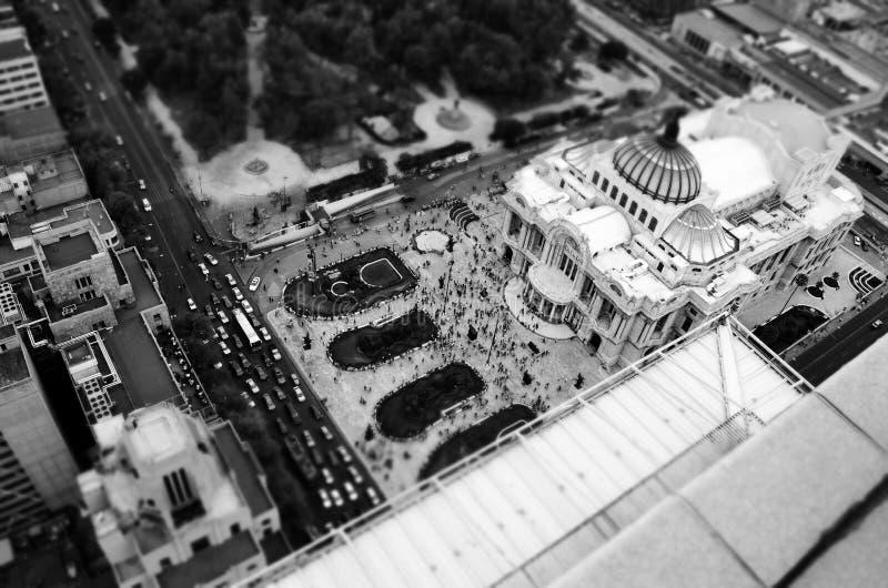 Palast von oben lizenzfreie stockfotos