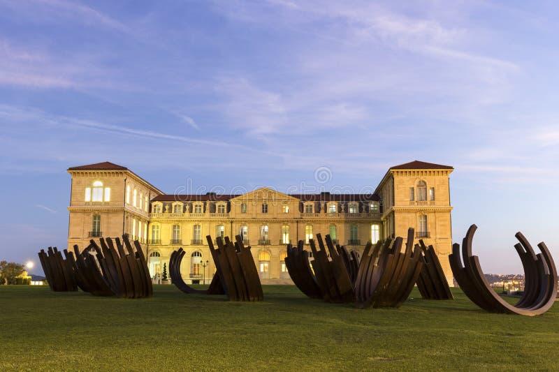 Palast von Pharo in Marseille in Frankreich lizenzfreie stockfotos