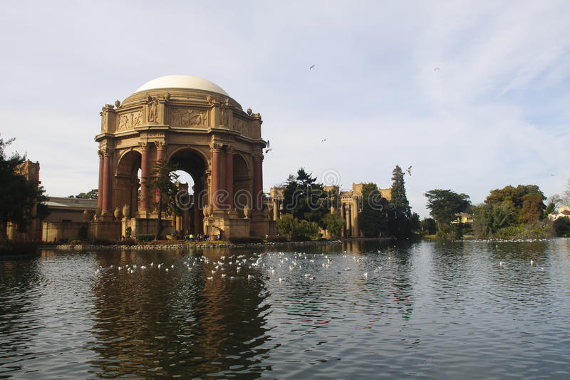 Palast von schönen Künsten stockfotos