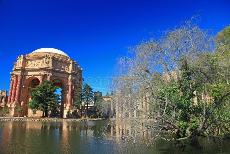 Palast von schönen Künsten in San Francisco stockfotografie