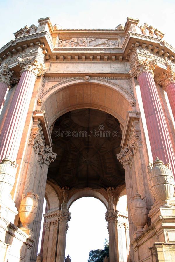 Palast von schönen Künsten, San Francisco lizenzfreie stockfotografie