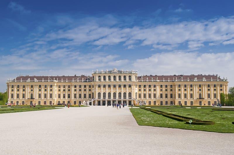 Palast Wiens Schonbrunn lizenzfreies stockbild