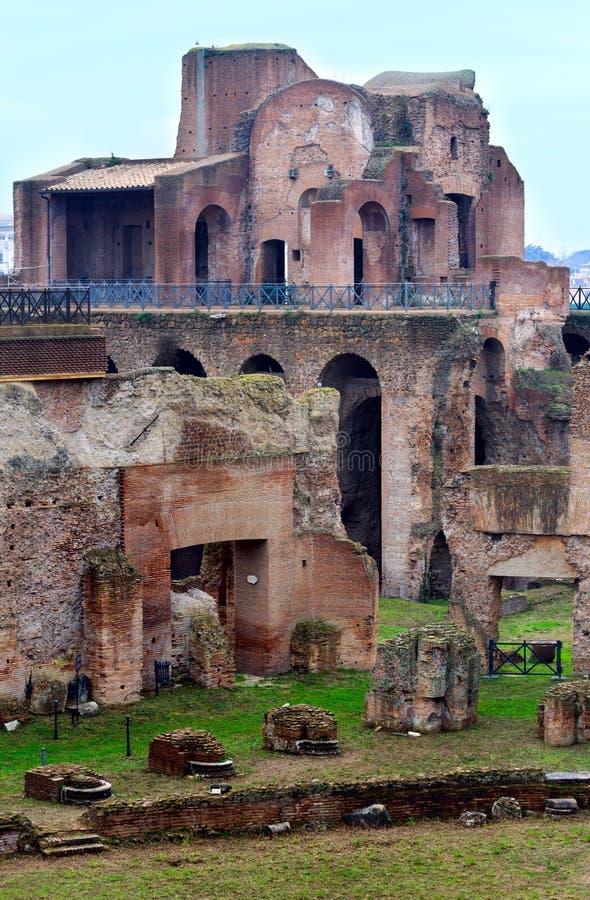 Palatine-Hügel Rom Italien stockfoto