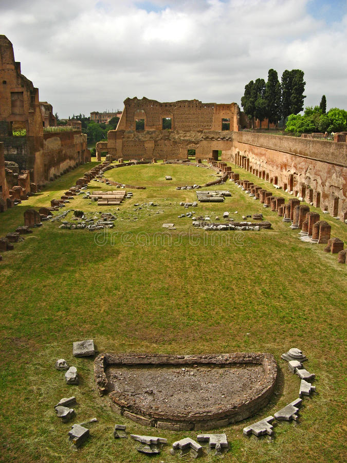 Palatine Hill 05. Palatine Hill in Rome, Italy stock photos