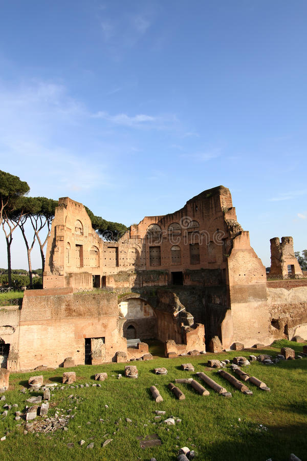 Palatine Hill in Rome. Italy stock photos