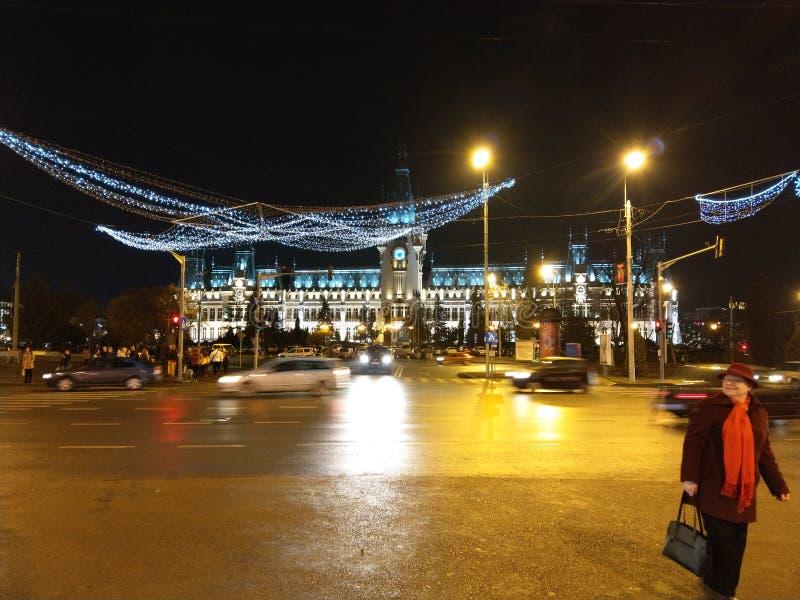 Palatul culturii łomot Iasi zdjęcie royalty free