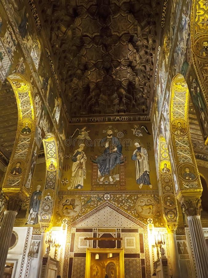 Palatyn kaplicy mozaika i dekoracja obraz royalty free