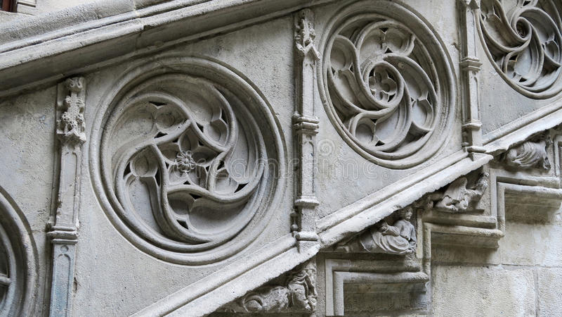 Palau de la Generalitat fotografia stock