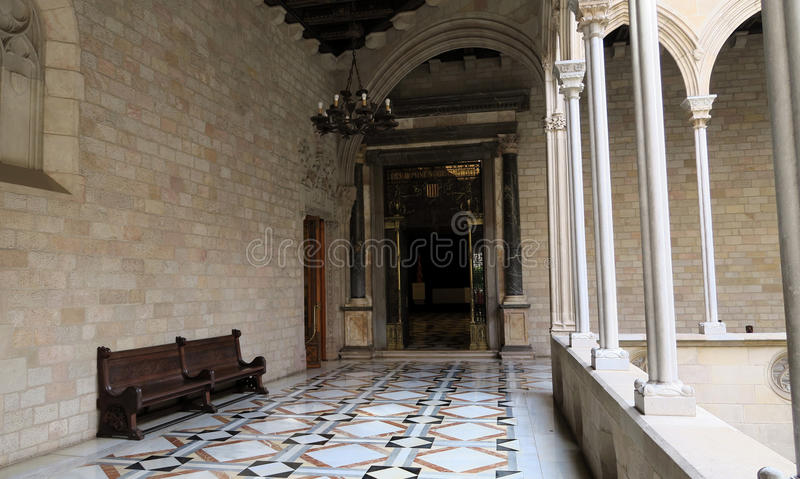 Palau DE La Generalitat royalty-vrije stock afbeelding