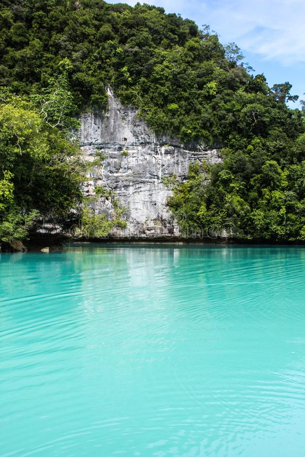 Palau Islands in May 2015. Palau Islands beaches in May 2015 royalty free stock image