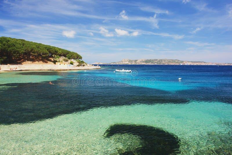 Palau, Sardegna fotografia stock
