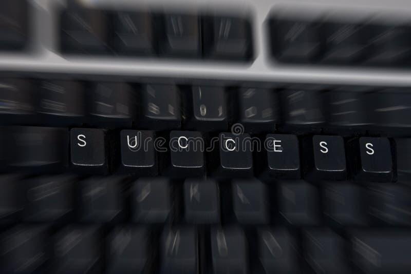 Palavra-chave do sucesso foto de stock