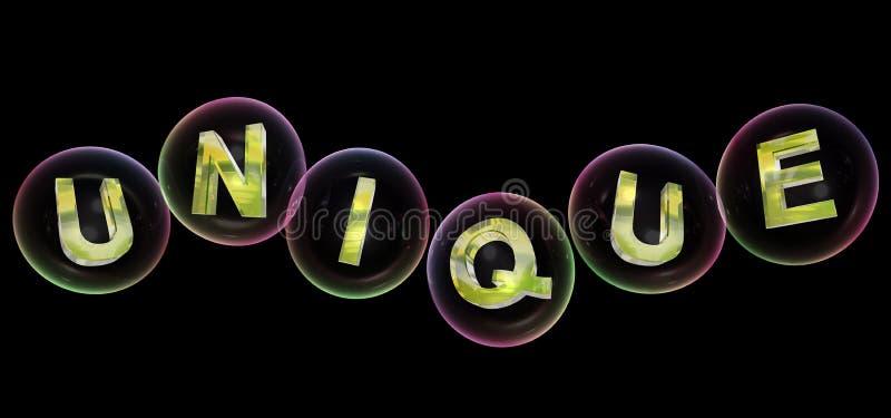 A palavra original na bolha ilustração do vetor