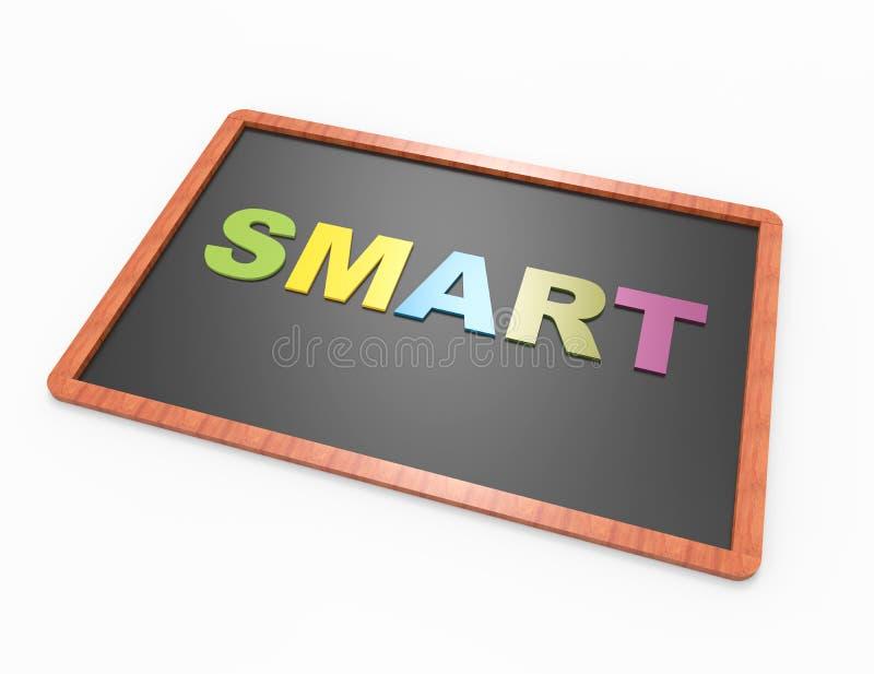 Palavra & x27; Smart& x27; ilustração stock