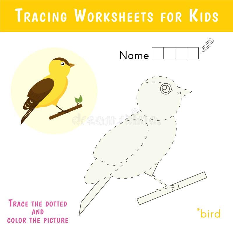 Palavras cruzadas educacionais para crianças ilustração royalty free