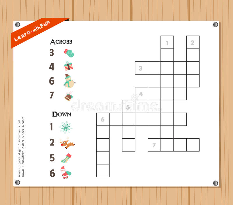 Palavras cruzadas jogo da educa o para crian as sobre o for Cucinare per bambini 7 anni