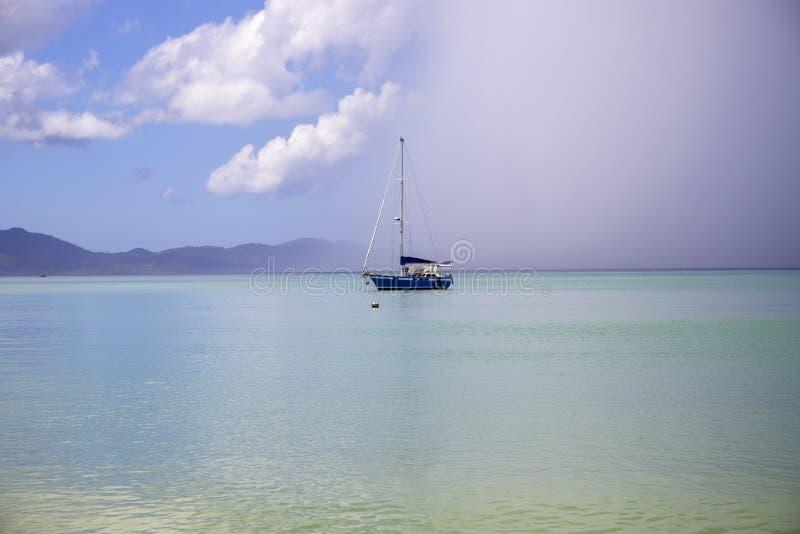 Palawan Filipiny - 24 2018 Listopad: turkusowa denna laguna i łodzie, tropikalny wyspa krajobraz fotografia stock