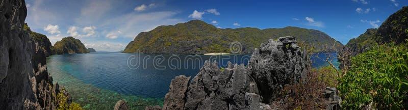 palawan panoramatic νησιών στοκ εικόνα