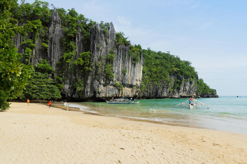 Palawan wyspa, Filipiny obraz royalty free