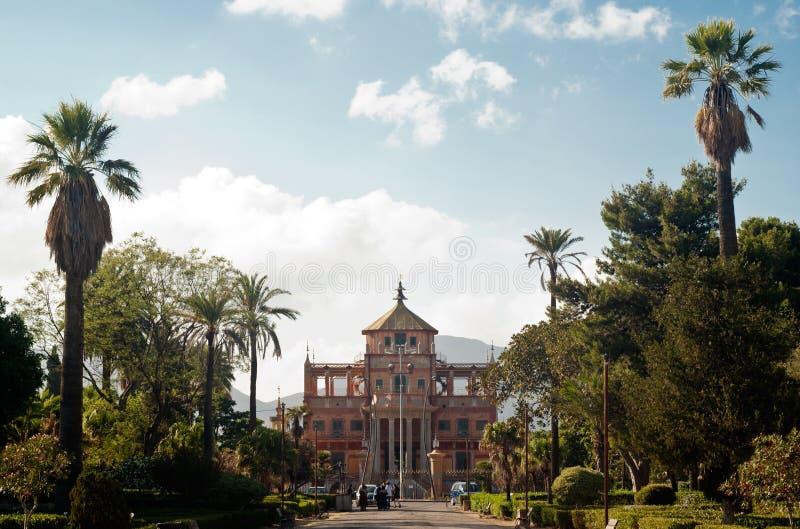 Palazzina cinese a Palermo, Sicilia immagini stock