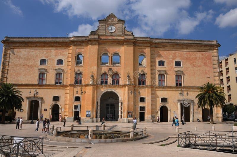 Palazzo小山谷安农齐亚塔 免版税库存图片